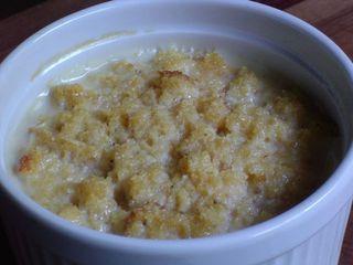 Indian corn pudding