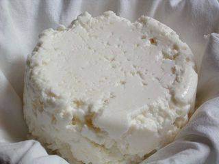 drained ricotta