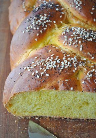 5-braid challah