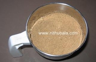 Horsegram Chutney Powder-1