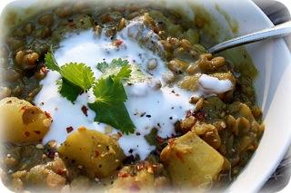 Lentils & Potatoes w Curry 2-1
