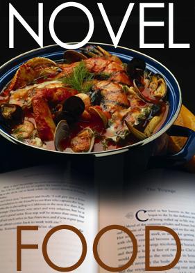 Novel Food logo by Keith