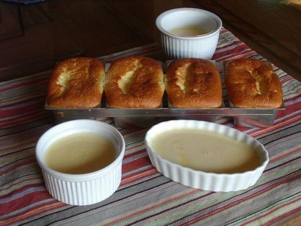 ... alla vaniglia e glassa al cioccolato / Bostini cream pie - briciole