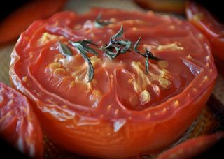 oven-roasted tomato