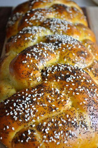 6-braid challah