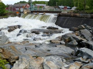 Shelburne Falls and glacial potholes