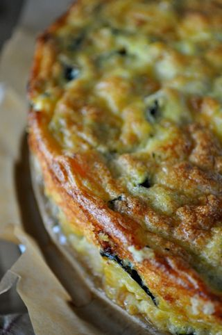 zucchini and carrot savory cake