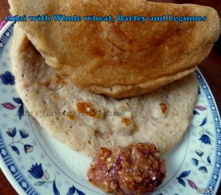 Whole wheat-barley and legumes dosai (3) copy