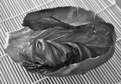 radicchio leaf