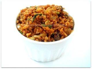 Mushroom& soyakheema masala