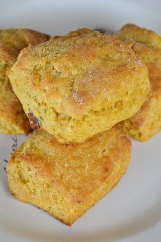 curry pumpkin and ginger scones
