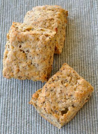 ricotta scones with poppy seeds