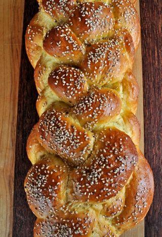 challah fatta in casa / homemade challah - briciole