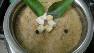Foxmillet pongal