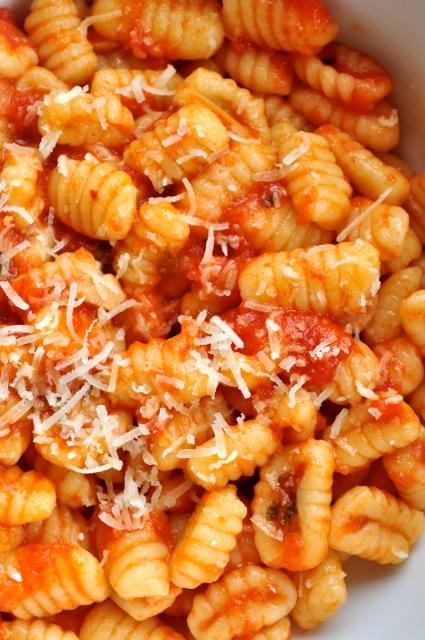 Gnocchetti Sardi Al Sugo Sardinian Gnocchi With Tomato
