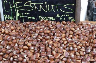 chestnuts at the farmers' market
