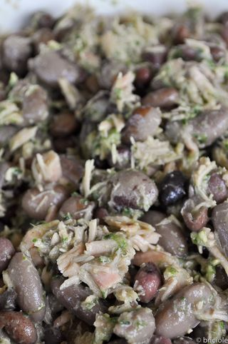 bean and tuna salad