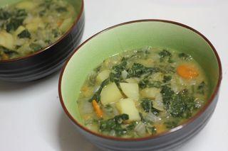 Silverbeet soup