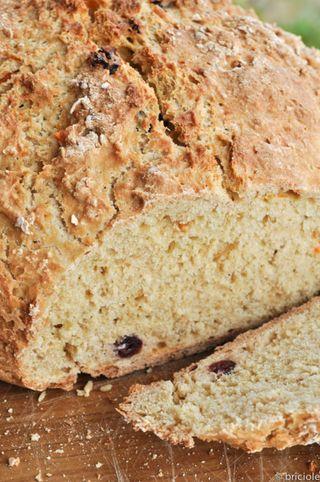 Irish soda bread / pane irlandese