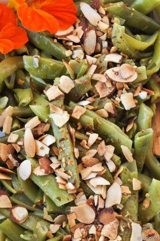 Rattlesnake bean salad