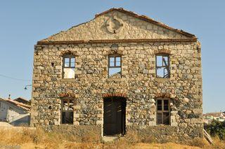 Samos, tannery in Karlovasi