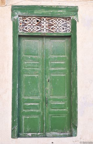 door in Samos