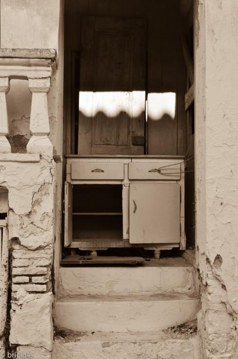 abandoned house in Samos, Greece
