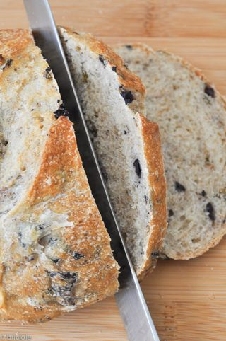 Cyprus-style olive bread
