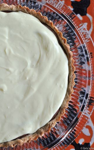 Asian pear and Quark cheese tart