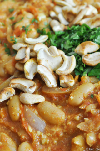 beans in cashew curry
