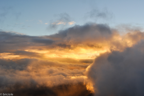 sunset from Mauna Kea VIS