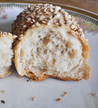 rohlik / panino ceco / Czech bread roll