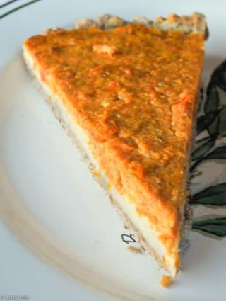 sklandrausis-inspired vegetable tart