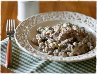 Spatzle aglio orsino6