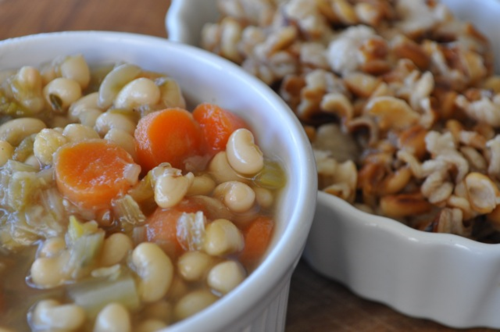 soup with fagiolina del Trasimeno