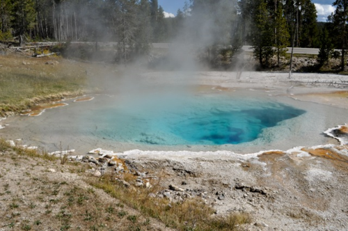 Celestine Pool (Fountain Paint Pot, Yellowstone)