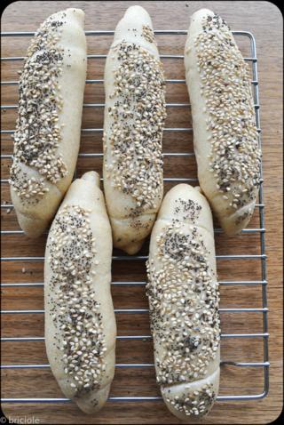 rohliky / panini cechi / Czech bread rolls