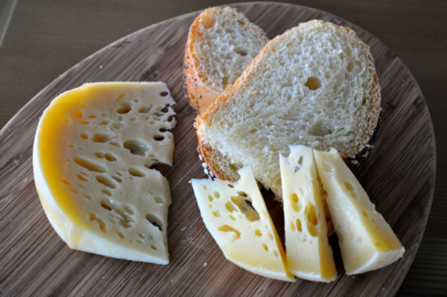 Jarlsberg cheese