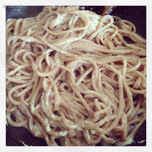 Ricetta Noodles Fatti A Mano.Recipe Chestnut Flour Handmade Spaghetti Spaghetti Alla Farina Di Castagne Briciole
