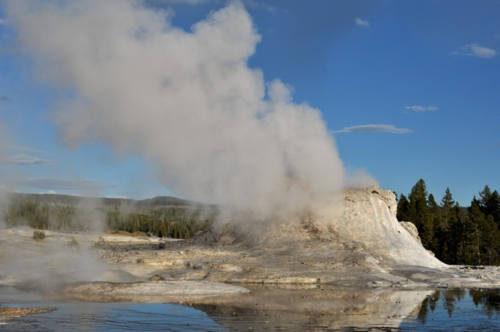 Castle Geyser, Yellowstone