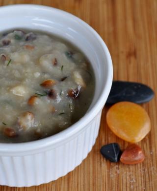 fava bean and barley soup