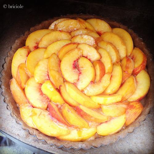 IMG_1877 / Peach tart / crostata di pesche