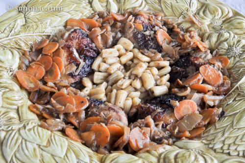 Senegalese chicken (poulet yassa) / DSC_6620