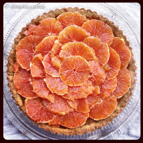 orange tart / IMG_2648