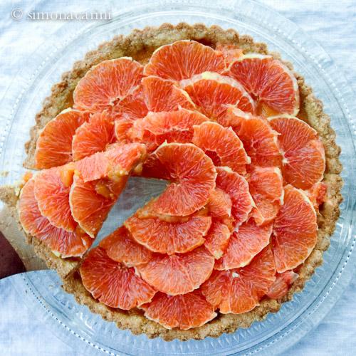 orange tart / IMG_2655