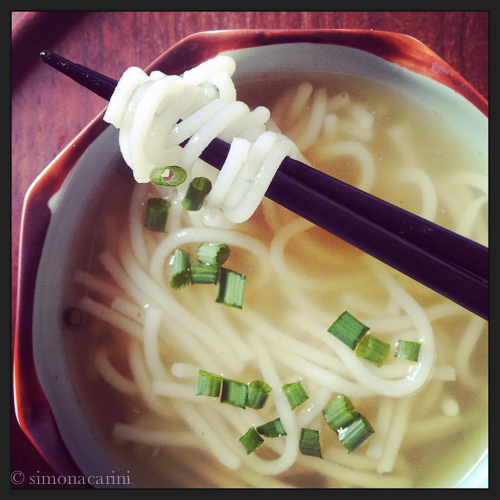 homemade bun rice noodle soup / IMG_2887