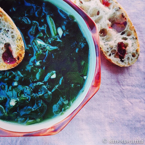 spinach soup / IMG_2966