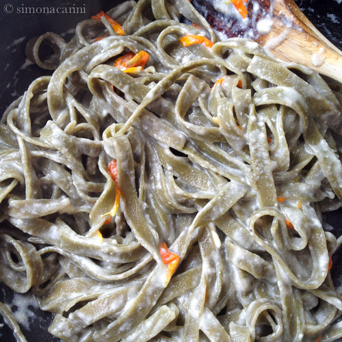 matcha noodles / IMG_3117