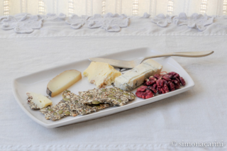 gluten-free seed crackers