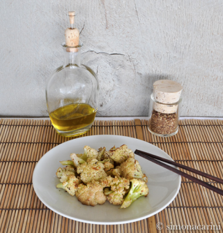 roasted cauliflower with za'atar